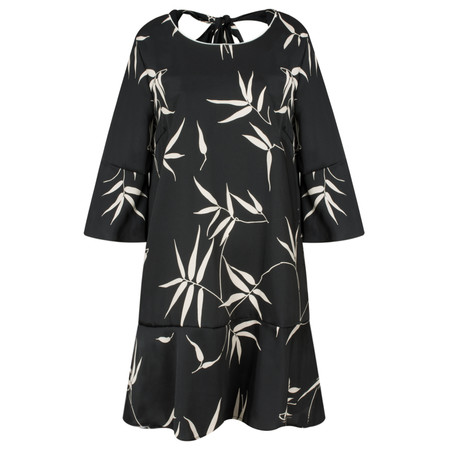 Lauren Vidal Doa Printed Easy Fit Tunic - Black