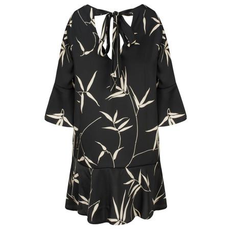 Lauren Vidal Doa Printed Easy Fit Tunic - Black