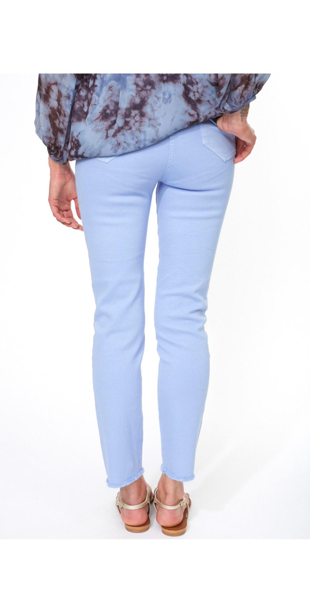 Frayed Hem Slim Jean main image
