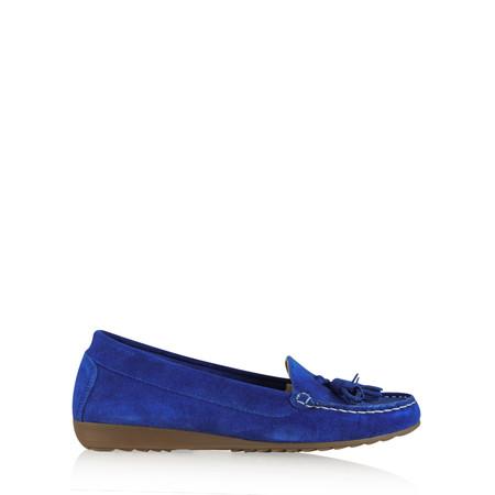 Gemini by GDF Ginny Tassel Suede Loafer - Blue