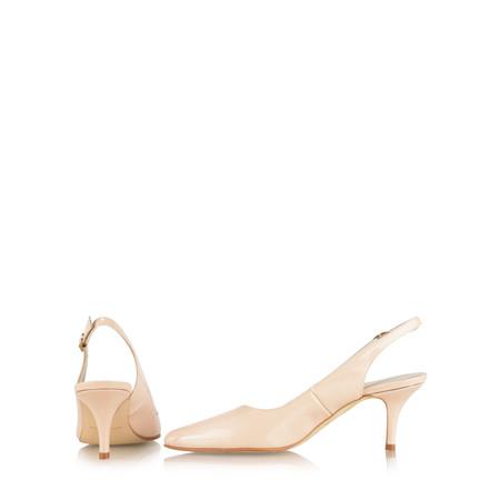 Gemini Label  Ingel Kitten Heel Shoe - Pink