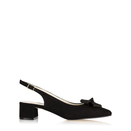 Gemini by GDF Delazo Suede Shoe - Black