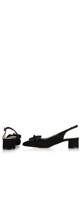 Gemini Label Shoes Delazo Suede Shoe Black