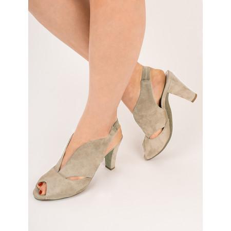 Gemini Label Valencia Sandal Shoe - Beige