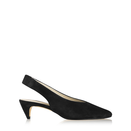 Gemini Label  Dache Suede Shoe - Black