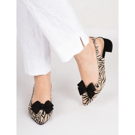Gemini Label  Delazo Animali Shoe - Black