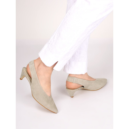 Gemini Label Dache Suede Shoe - Beige