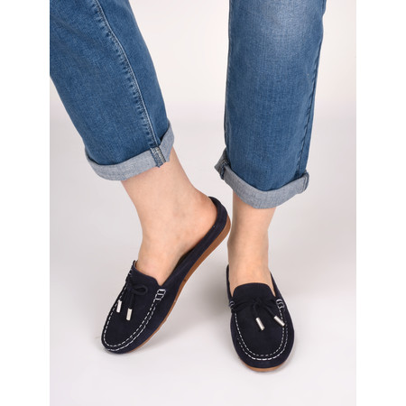 Gemini Label Lara Slide Loafer - Blue
