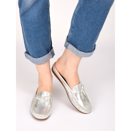 Gemini by GDF Lara Slide Loafer - Metallic