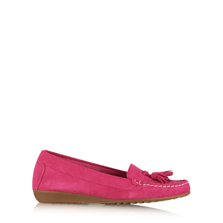 Gemini by GDF Ginny Tassel Suede Loafer - Purple
