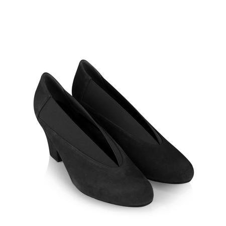 Gemini Label  Brumabe Suede Shoe - Black