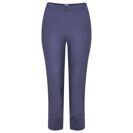 Myrine Buttercup Cropped Trousers - Blue