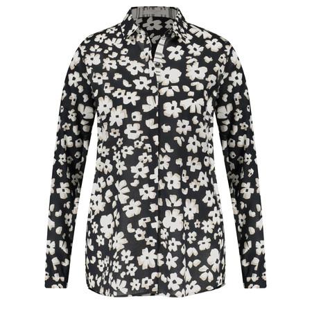 Gerry Weber Floral Shirt Blouse - Beige