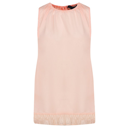 French Connection Classic Crepe Light Top - Pink