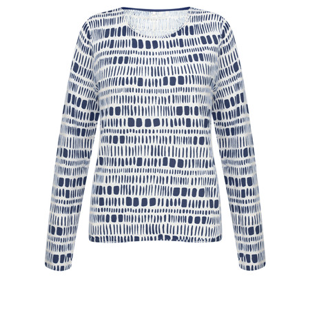 Gerry Weber Yesterday Blooms Geometric Jumper - Multicoloured