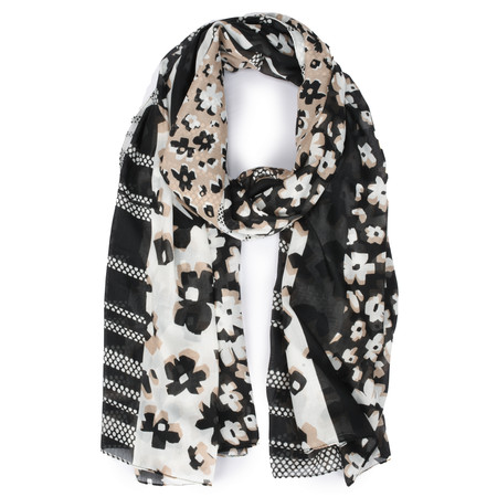 Gerry Weber Good Vibrations Floral Print Scarf - Multicoloured