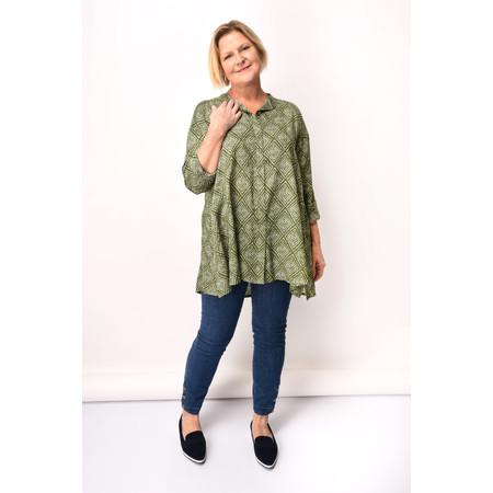 Masai Clothing Idelta Blouse - Green
