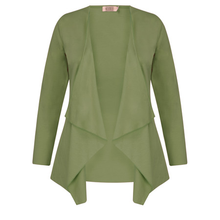 Masai Clothing Itally Cardigan  - Green