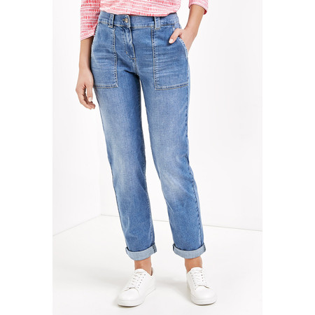 Gerry Weber Yesterday Blooms Cropped Jeans - Blue