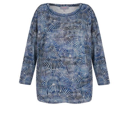 Sahara Kumo Print Jersey Top - Multicoloured