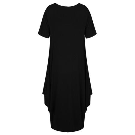 Foil Arc Maxi Dress - Black