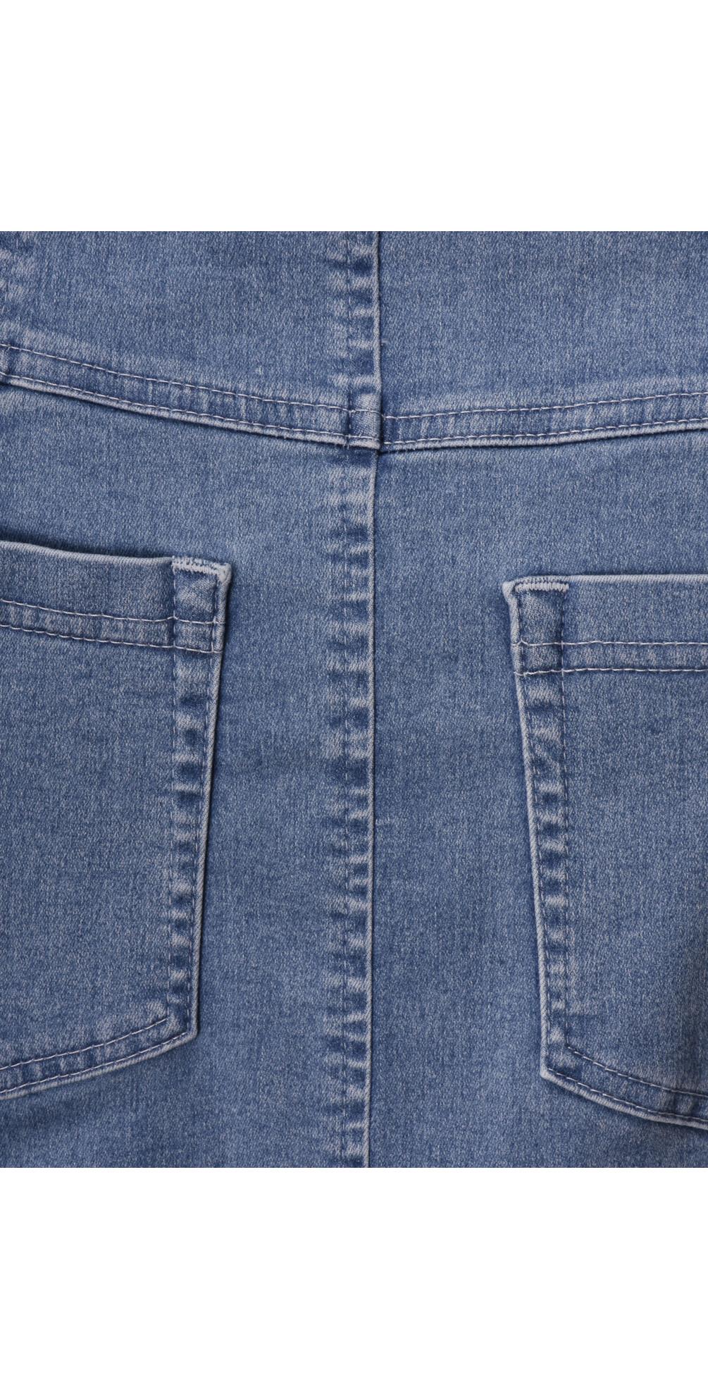 Maraike Light Denim Power Denim Skirt main image