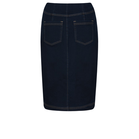 Robell  Maraike Power Denim Skirt - Blue