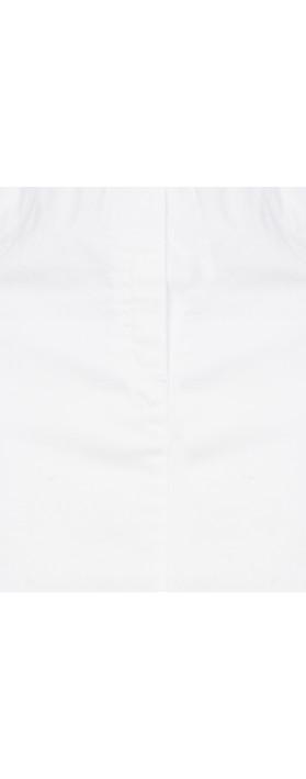 Robell Maraike White Power Denim Skirt White