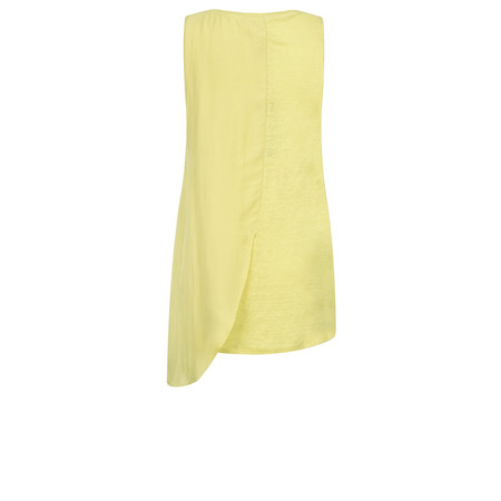 Foil Back In The Fold Top - Yellow