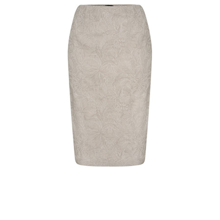 Robell Trousers Christy Jacquard Skirt - Beige