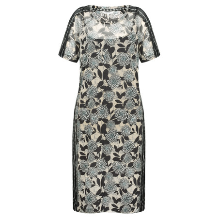 Sandwich Clothing Print Fine Net Dress - Beige
