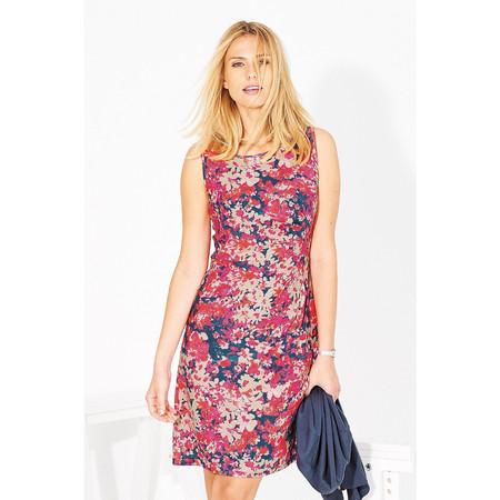 Adini Hannah Print Pearl Dress - Pink