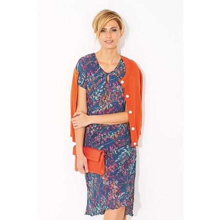 Adini Lupin Print Ada Dress - Blue