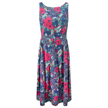 Adini Tamarind Print Faith Dress - Pink