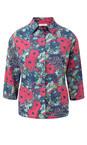 Adini Tropical Pink Tamarind Print Shirt