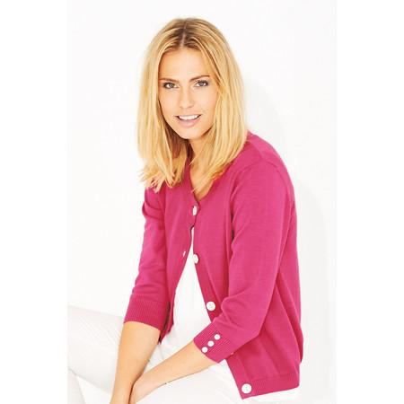 Adini Kalita Knit Cardigan - Pink