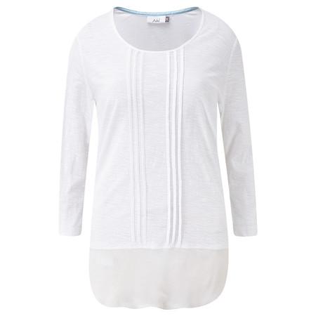 Adini Cotton Slub Leanne Tunic - White