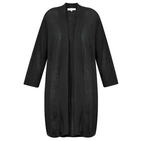 Sandwich Clothing Linen Knit Cardigan - Black