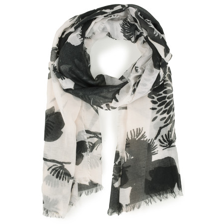 Sandwich Clothing Esther Weave Scarf - White