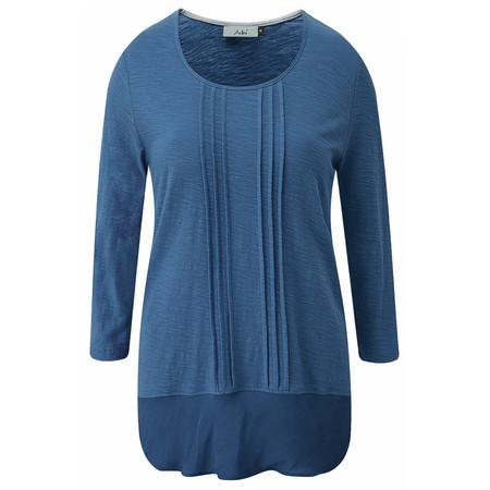 Adini Cotton Slub Leanne Tunic - Blue