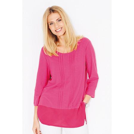 Adini Cotton Slub Leanne Tunic - Pink