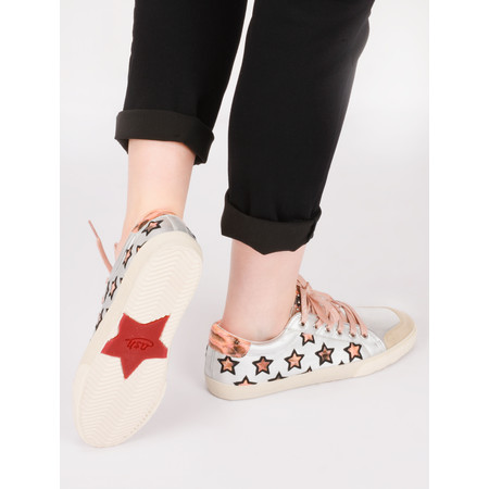 Ash Majestic Star Trainer Shoe - Black