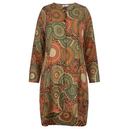 Masai Clothing Inelda Blouse - Orange