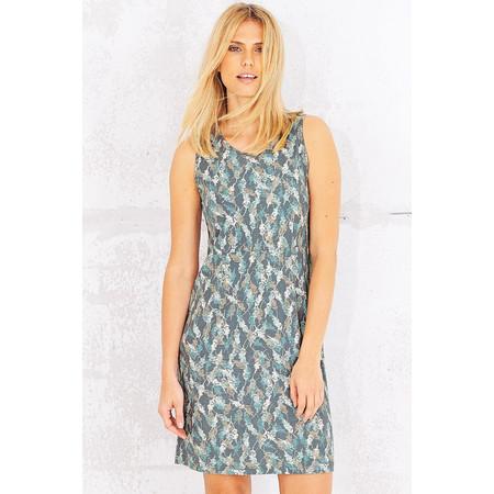 Adini Printed Hillier Dress - Blue