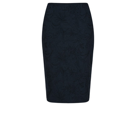 Robell Trousers Christy Jacquard Skirt - Blue