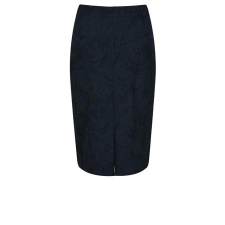 Robell  Christy Jacquard Skirt - Blue