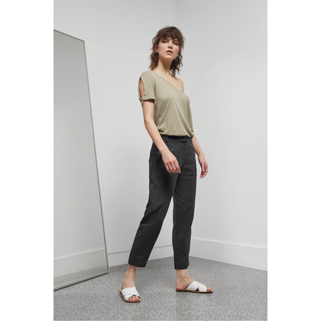 Great Plains Alana Linen Trouser - Blue
