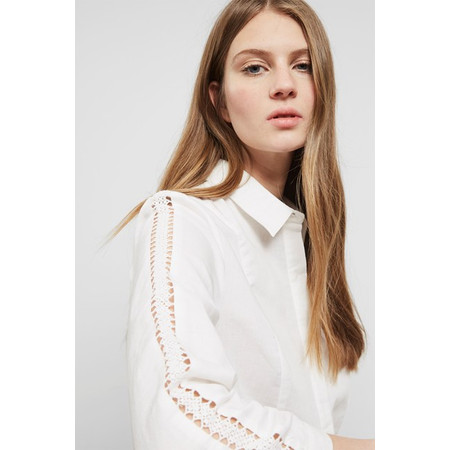Great Plains Lagos Linen Shirt - White