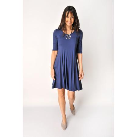 Myrine Marigol Crepe Dress - Blue