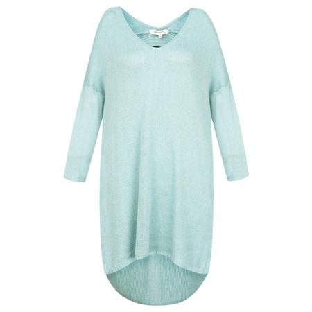 Sandwich Clothing Linen blend Knitted Jumper - Green
